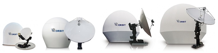 Orbit TVRO Marine Antenna