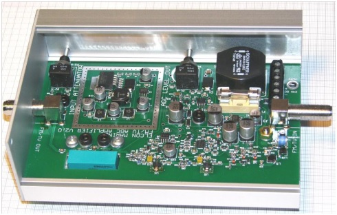 FM-TV Amplifier with AGC